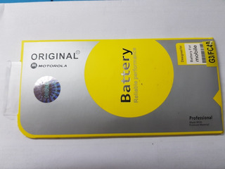 Bateria Moto G3 (fc40) Lacrada