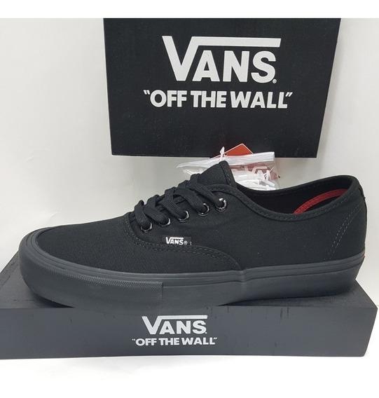 Vans Original Authentic Pro Black !original Com Nf