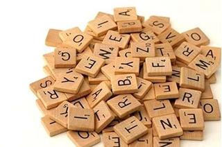 500 Baldosas De Scrabble De Madera - Nuevas Letras De Scrab