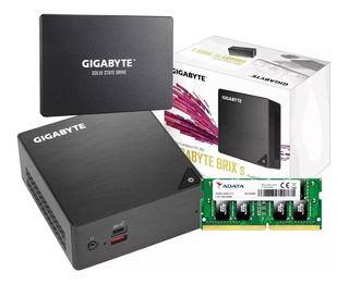 Mini Pc Core I5 Gigabyte Brix Bri5h 8250 I5 8250u 8gb 240gb