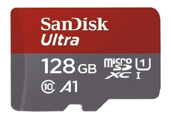 Sandisk Ultra Micro Sd Sdxc Uhs-1 128gb 100mb/s
