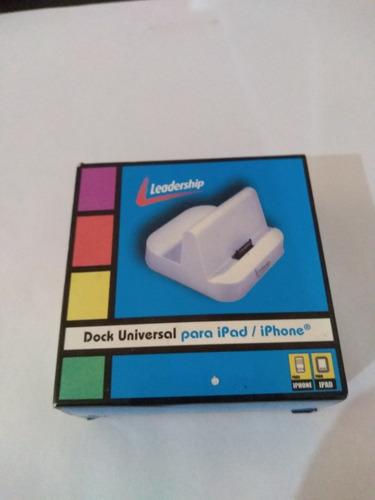 Dock Universal Para iPad/iPhone