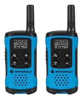 Rádio Comunicador Motorola Talkabout T100br- À Pilha - Novo