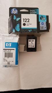 Cartucho Hp122 Usado Vacio X2 Unidades