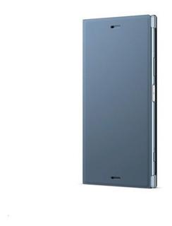 Capa Com Suporte Scsg50 Xperia Xz1 Azul Sony Original