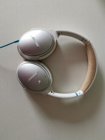 Fone Bose Qc 25 Com Noise Cancelling - Muito Pouco Usado