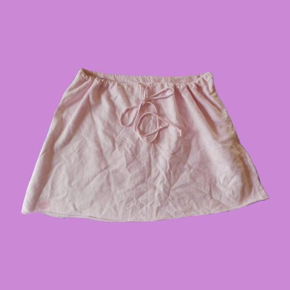 Falda Pawa Color Rosa Pastel