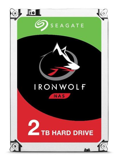 Disco rígido interno Seagate IronWolf ST2000VN004 2TB