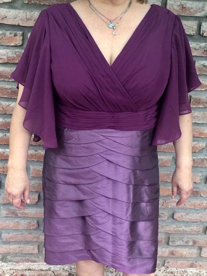 Vestido Color Violeta Para Madrina