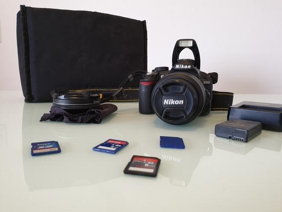 Camera Nikon D3100 Semi Profissional
