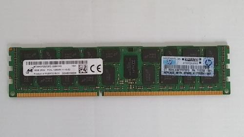 Imagem 1 de 4 de Memória 16 Gb Pc3l-12800r Hp 713756-281 Memoria Ram Ddr4