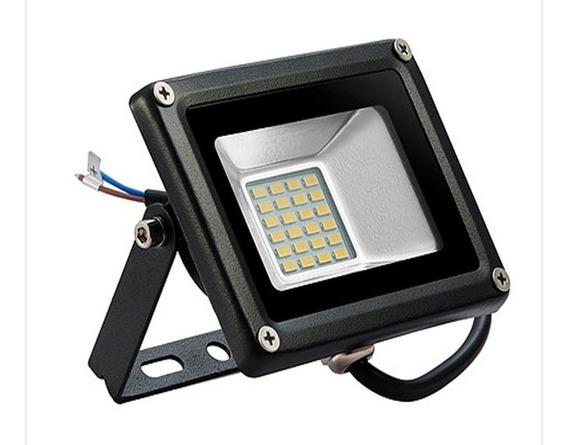 Reflector Led 20w Smd5730 12v Dc Bateria Panel Solar