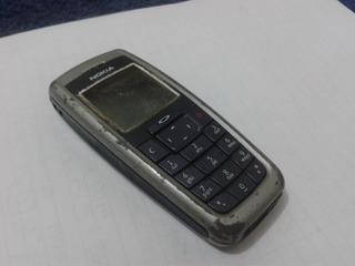 Celular Nokia Prata Dual Sim C/ Peq. Defeito Venda No Estado