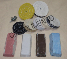 Kit 16 - Polimento Moto - Canal Kle Gdc -cm Polimento