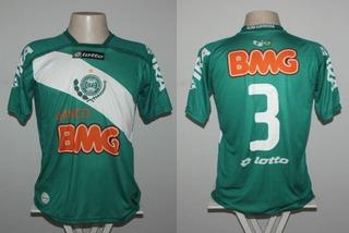 Camisa Coritiba Lotto Bmg #3 - De Jogo