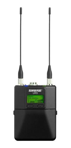 Receptor Camera Sem Fio Shure Ur5-j5