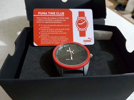 Reloj De Caballero Puma Perfecto Estado Sin Fallas Ni Detall