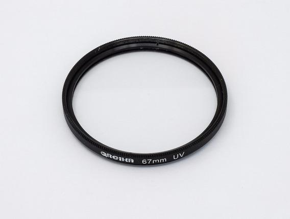 Filtro Uv 67mm Greika Para Cameras Nikon Canon Sony
