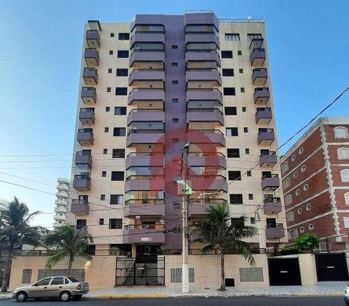 Apartamento Com 2 Dormitórios À Venda, 81 M² Por R$ 270.000,00 - Tupi - Praia Grande/sp - Ap3317