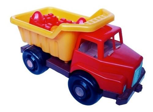 Camión Volteo Carrito Juguete  Carro Tractor 50 Cm