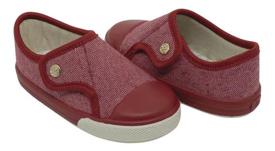 Tênis Pimpolho Comfort Vermelho - 17 Ao 24 - 64441e