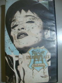 Vhs The Immaculate Collection - Madona