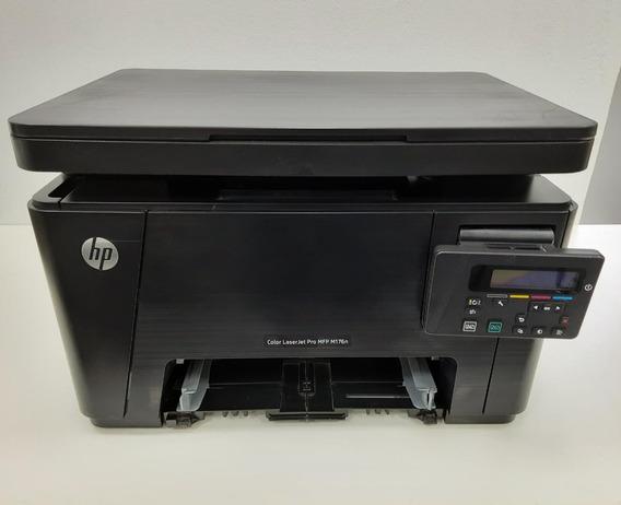Impressora Hp Color Laserjet Pro Mfp M176n Defeito Ler Descr