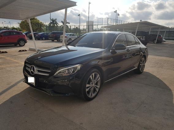 Mercedes-benz Clase C 2.0 200 Cgi Sport At 2017 Negro