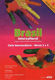 Brasil Intercultural 3-4 Intermediario - Livro