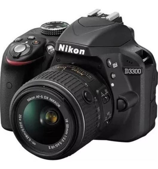 Câmera Nikon D3300 Seminova