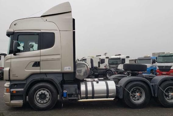 Scania 480 6x4 Cavalo Mecanico Lindo 2013 - V