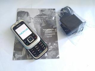 Nokia 6111 Original Carregador E Bateria Não Tem Chip Leia