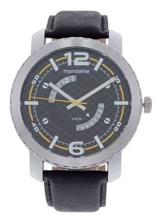 Relógio Masculino Mondaine 76491g0mgnh1 Analógico 3 Atm