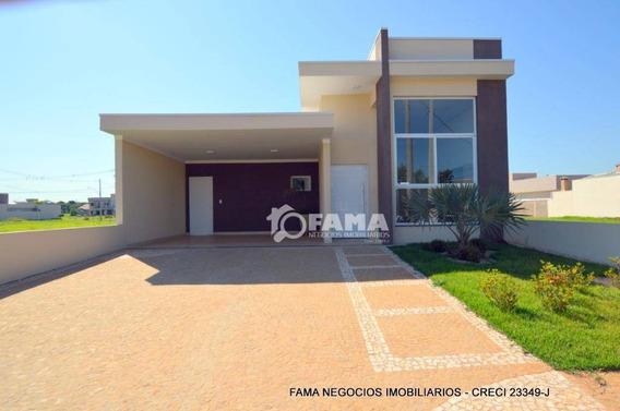 Casa Com 3 Dormitórios À Venda, 180 M² Por R$ 620.000,00 - Condomínio Campos Do Conde Ii - Paulínia/sp - Ca1525