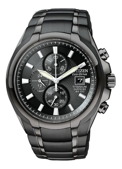 Relógio Citizen Ca0265-59e Super Titanium Black Ca0265