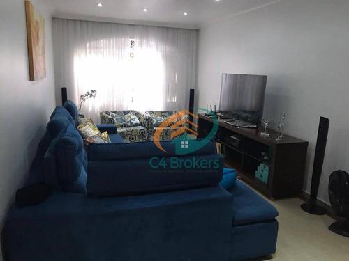 Imagem 1 de 18 de Casa Com 3 Dormitórios À Venda, 170 M² Por R$ 640.000,00 - Jardim Vila Galvão - Guarulhos/sp - Ca0170