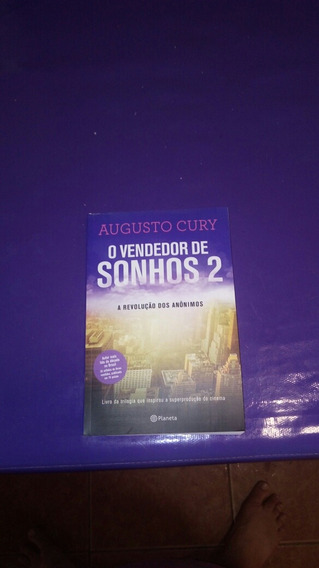 Livro O Vendedor De Sonhos 2-augusto Cury