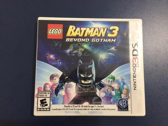 Nintendo - Lego Batman 3 3ds - Muito Novo!