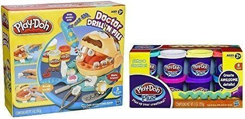Play-doh Plus Doctor Drill N Fill Set Varios Colores Mezclad