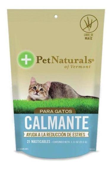 Calmantes Pet Naturals Para Gato (21 Pzs Por Bolsa)