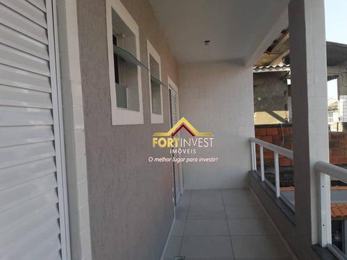 Sobrado Com 3 Dormitórios À Venda, 60 M² Por R$ 245.000,00 - Vila Antártica - Praia Grande/sp - So0141