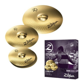 Pack Platillos Planet Z Plz4pk Zildjian - Envío Gratis