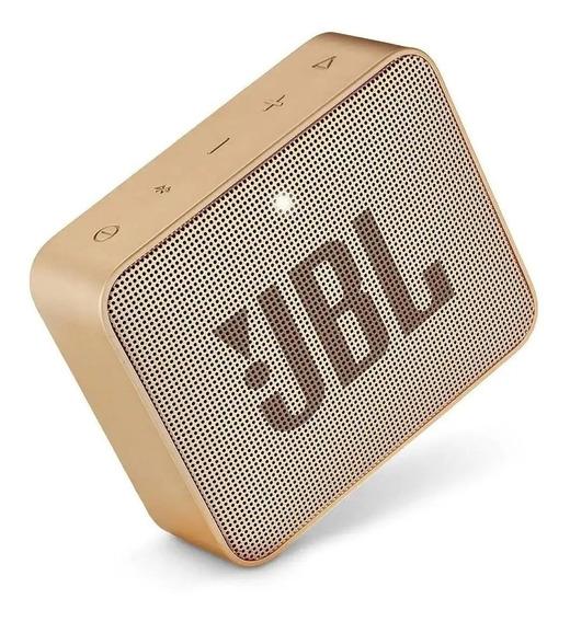 Caixa De Som Jbl Go 2 Portátil S/ Fio Speaker Prova De Agua
