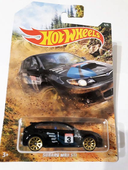 Hot Wheels Subaru Wrx Sti Rally El Segundo 2019 Esc. 1/64