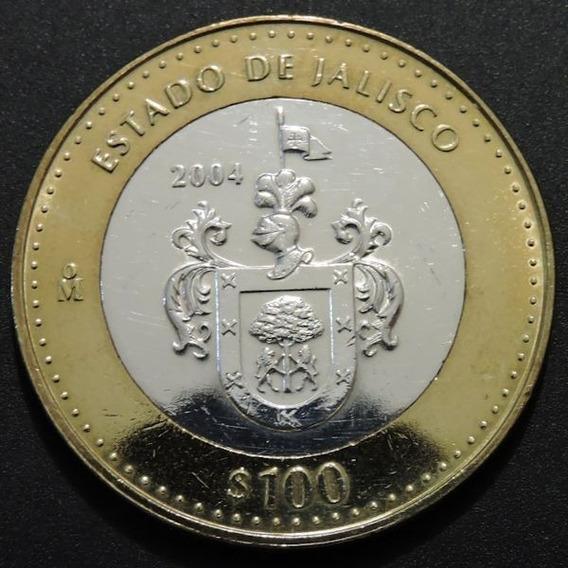 Mexico 100 Pesos - Estado De Jalisco - Plata