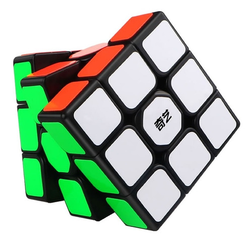 Cubo Rubik 3x3 Qiyi Sail W De Velocidad 3x3x3