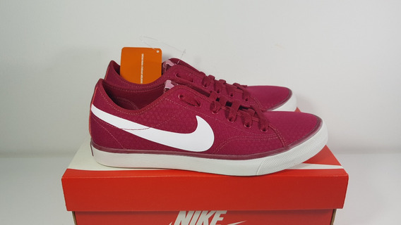 Tênis Primo Court Canvas Bordo Casual