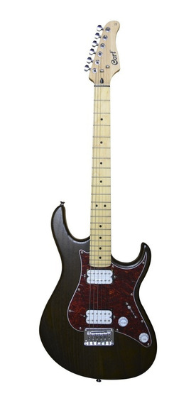 Guitarra Electrica Cort 22 Trastes Nogal Mate Mastil Arce