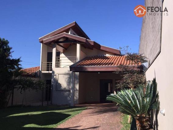 Casa Com 3 Dormitórios Para Alugar, 200 M² Por R$ 2.200,00/mês - Jardim Brasil - Americana/sp - Ca0591