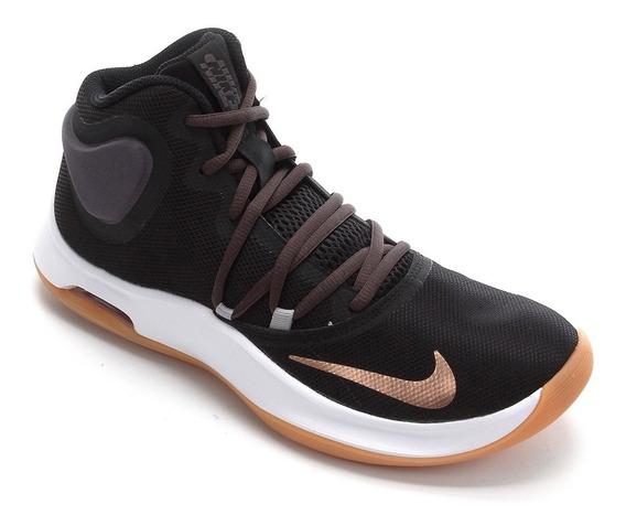 Tênis Masculino Nike Air Versitile Iv - Preto E Laranja